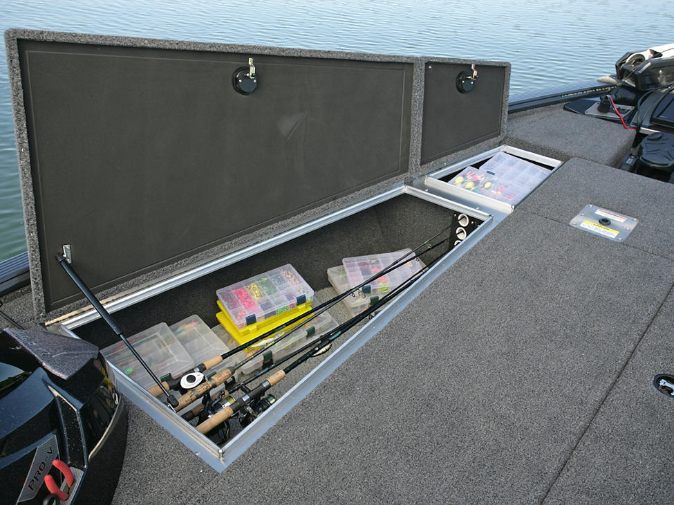 Pro-V-Bass-Port-Bow-Storage-Compartments-with-Optional-Rod-Storage