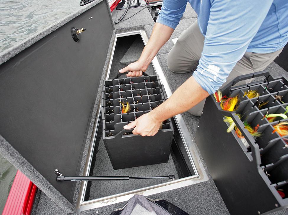 Pro-V Musky Tackle Box Storage