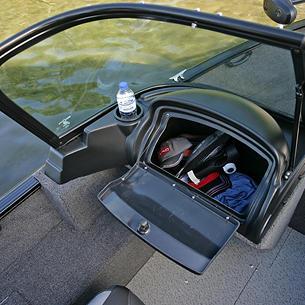 Rebel-XL-Sport-Port-Console-Glove-Box-Storage-Compartment-Open