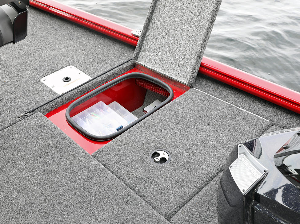 Renegade Bow Starboard Storage Compartment
