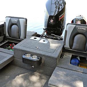 Tyee Aft Jump Seat Storage Open