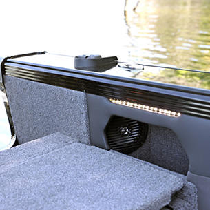Tyee Aft Stereo Speaker and LED Light Strip