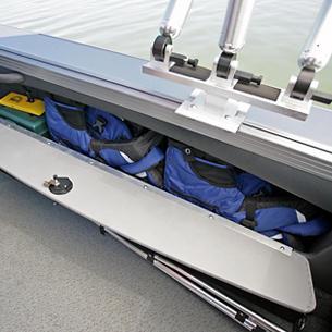 Tyee Magnum Starboard Storage Compartment
