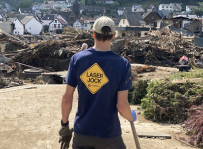 Supporting Flood Recovery Efforts in Germany