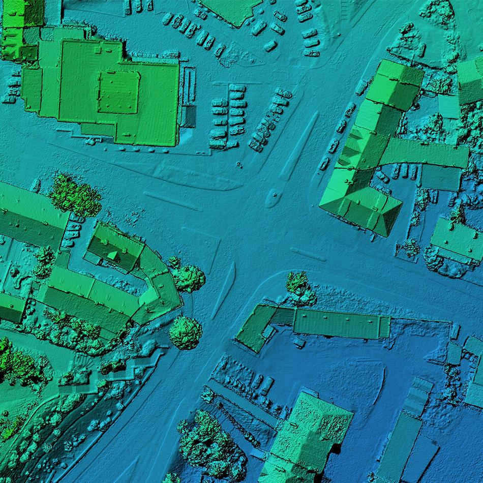 LIDAR und Laserfernerkundung