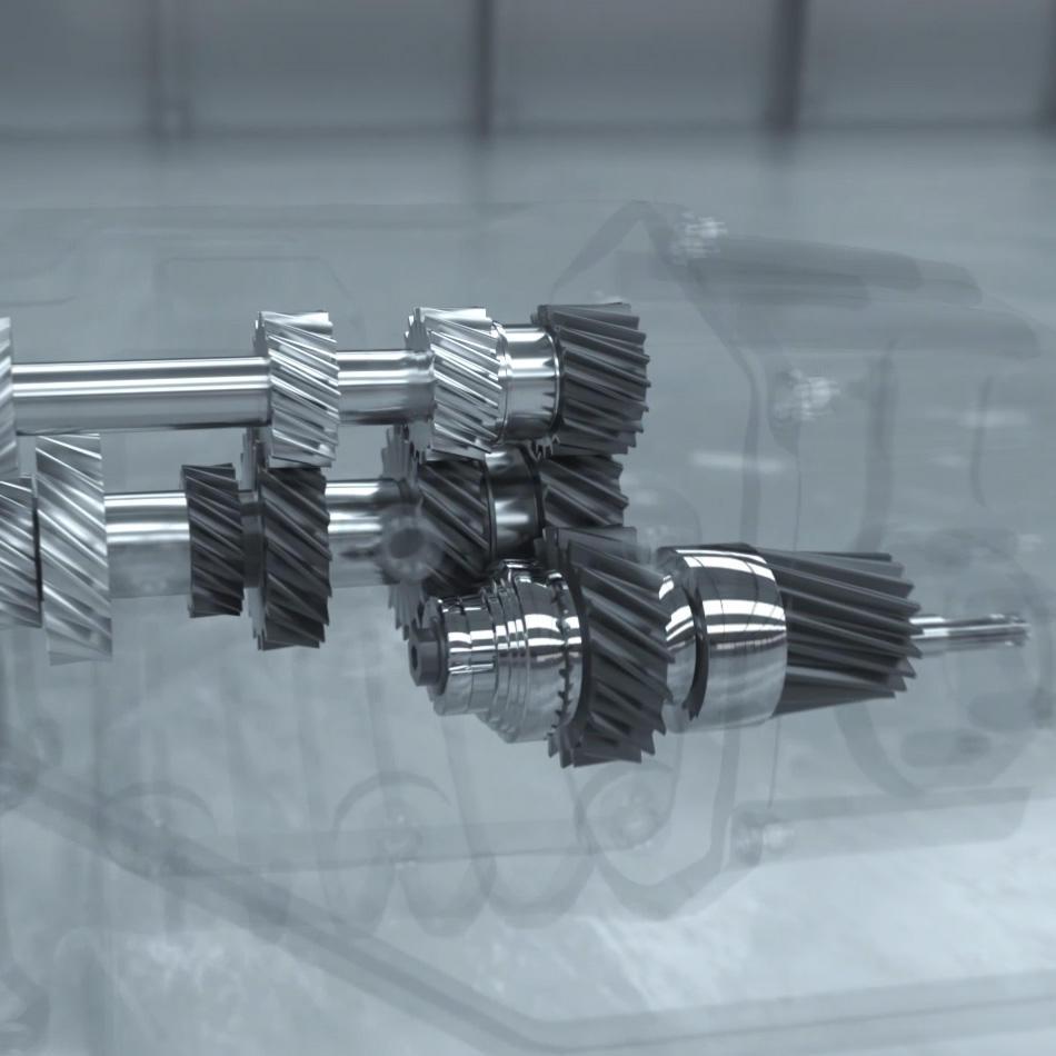 Laser von Antriebsstrang-Komponenten