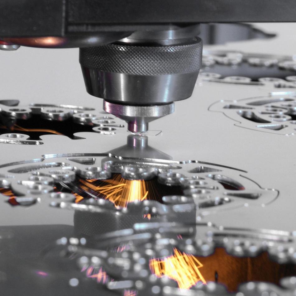 Laser-Metall- und Nicht-Metall-Bearbeitung