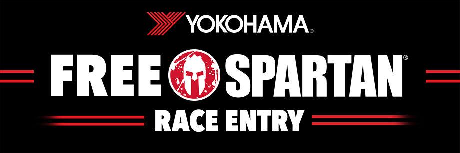 Free Spartan Race Entry with Yokohama purchase