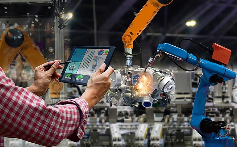 robotic arms - manufacturing
