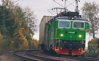 Green Cargo train