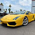 Yellow Lamborghini Gallardo features advanced armor LLumar Platinum PPF