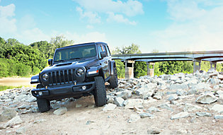 Extra thick PPF protects Jeep while off-roading