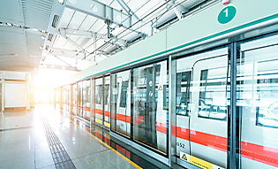 Safety and security film protects public transportation system