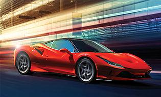 Valor PPF represented on red Corvette