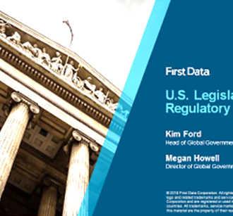 U.S. Legislative and Regulatory Landscape Webinar