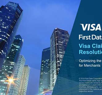 First Data Visa Claims Resolution Webinar