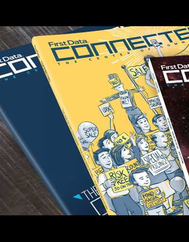 First Data Connected Magazine