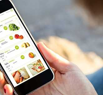 Mobile grocery ordering