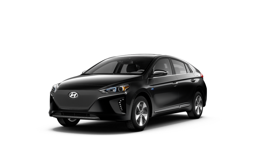 360 Exterior Image of the 2019 IONIQ Electric Limited in Black Noir Pearl