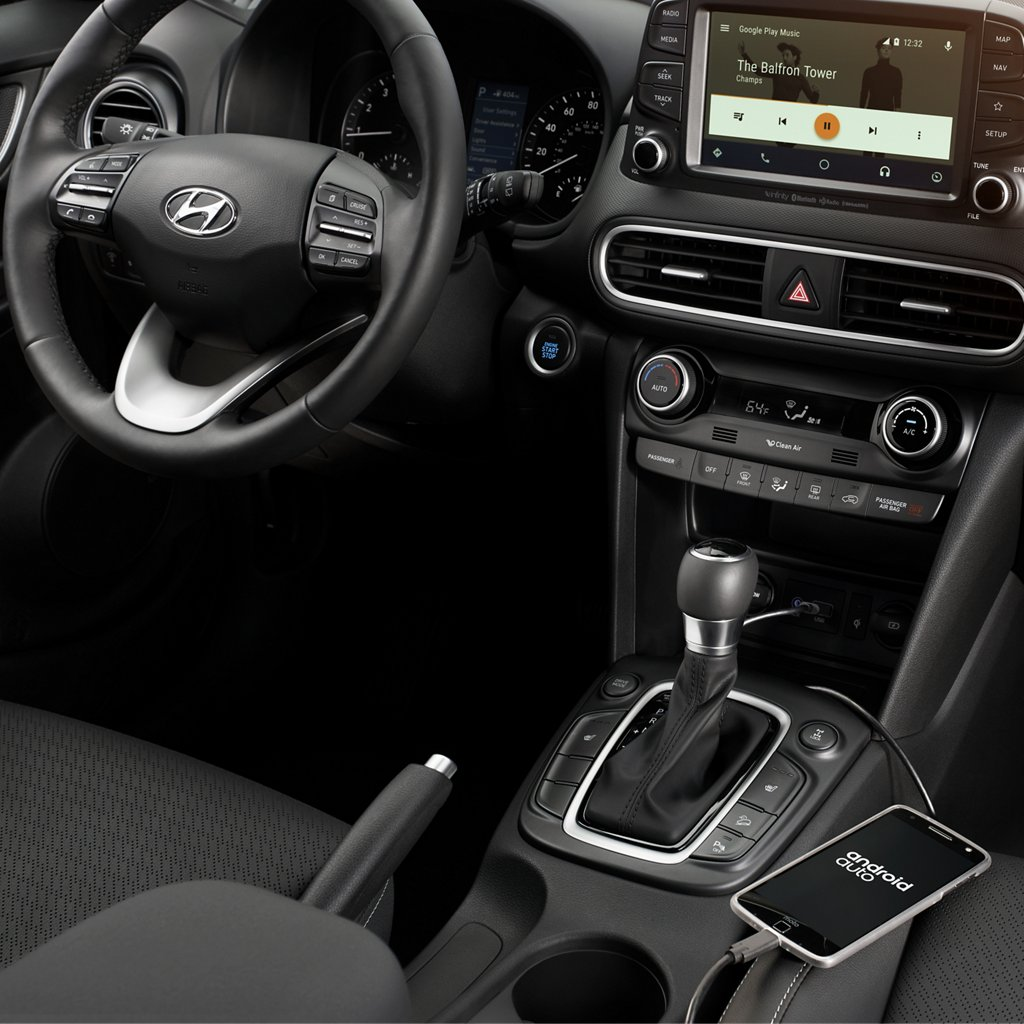 2020 Kona SE Android Auto 和 Apple Carplay