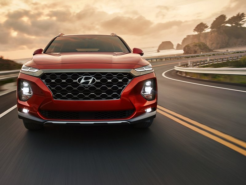 2020 Hyundai Santa Fe Limited Lane Keeping Assist