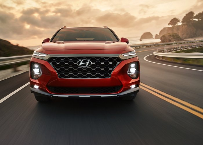 2020 Hyundai Santa Fe SEL Lane Keeping Assist