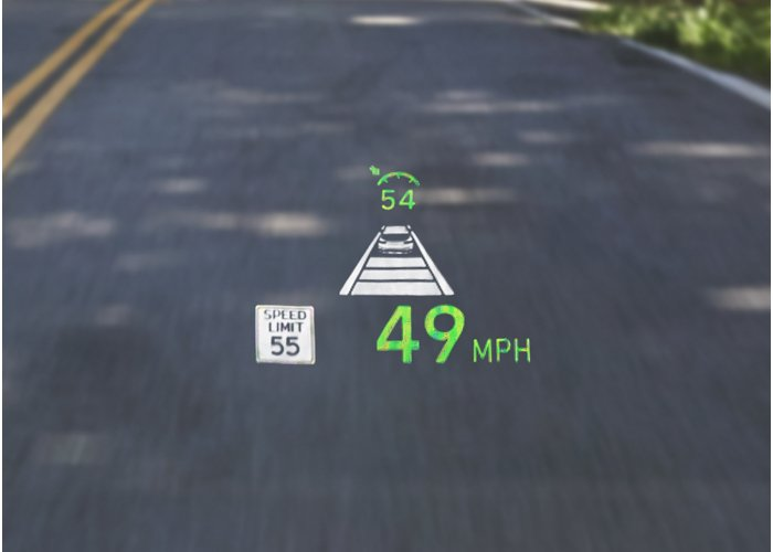 2020 Hyundai Santa Fe Limited Heads Up Display