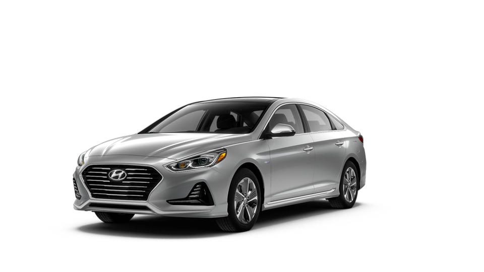 360 Exterior Image of the 2019 SONATA Hybrid Limited in Ion Silver