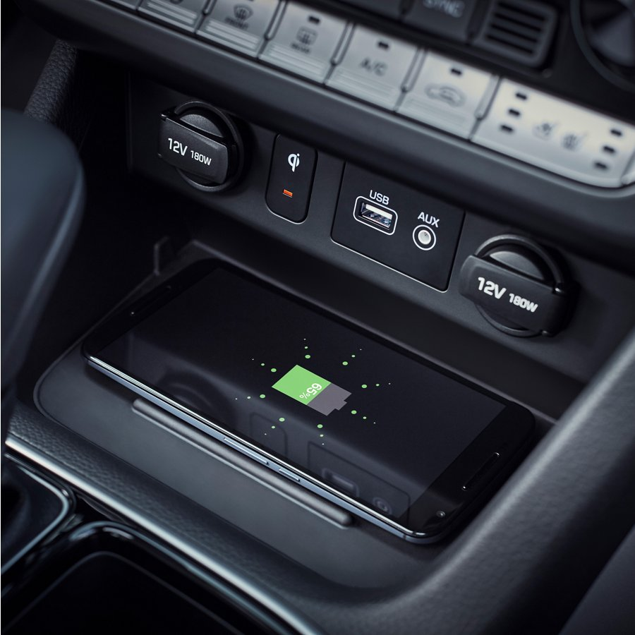 2019 Hyundai Sonata Hybrid Wireless Charger