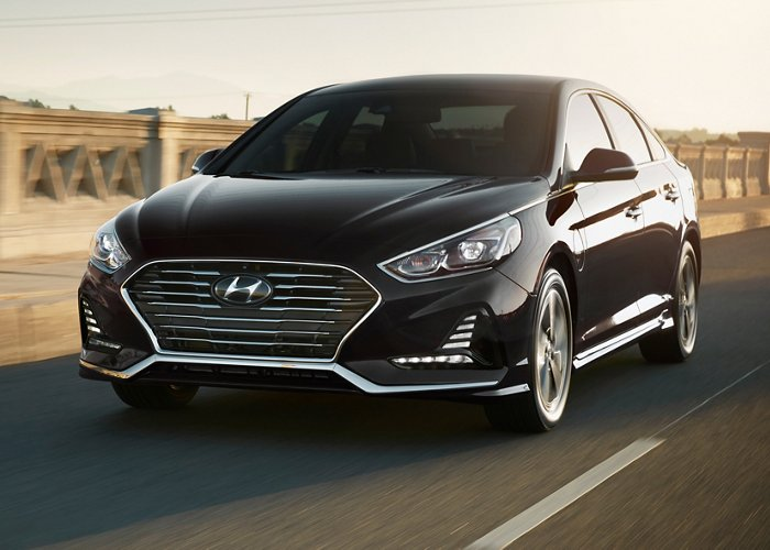2019 Hyundai Sonata Plug-in Hybrid Limited Black