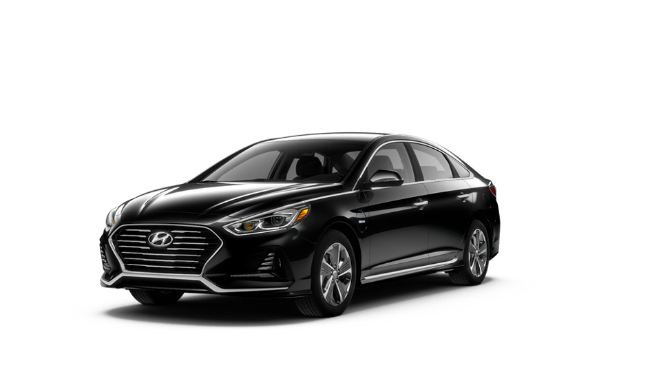 360 Exterior Image of the 2019 SONATA Plug-in Hybrid Limited in Nocturne Black