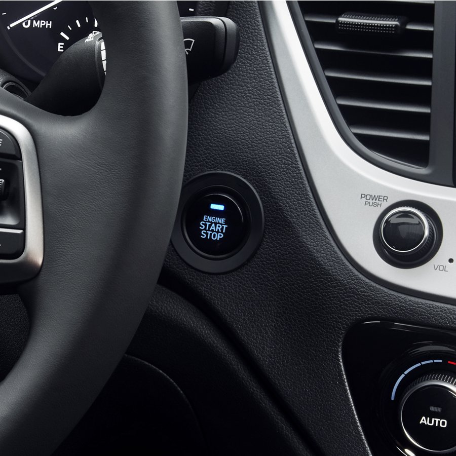 2020 Hyundai Accent Push Button Start
