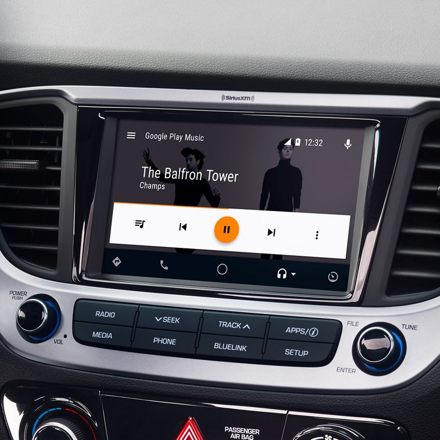 Android Auto y Apple CarPlay del Hyundai Accent 2020