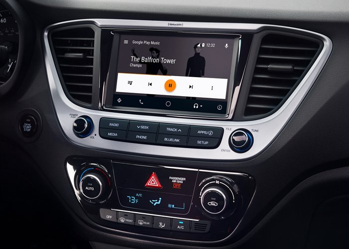 2020 Hyundai Accent Limited Touchscreen audio display