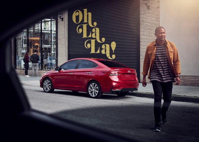Hyundai Accent Limited 2020 rojo