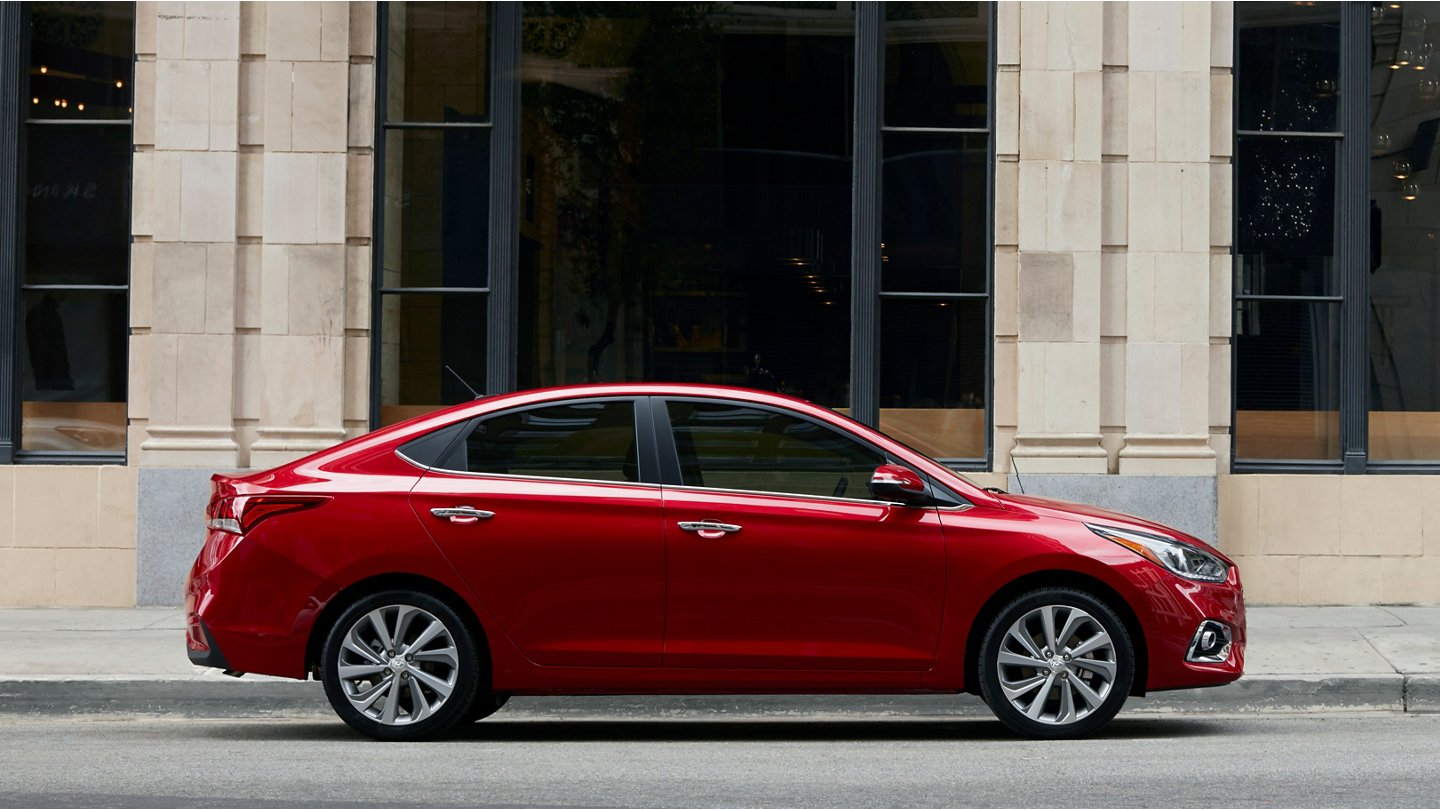 2020 Hyundai Accent Limited red
