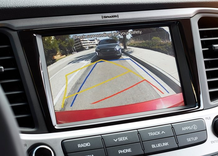 2020 Hyundai Accent SE Rear view monitor