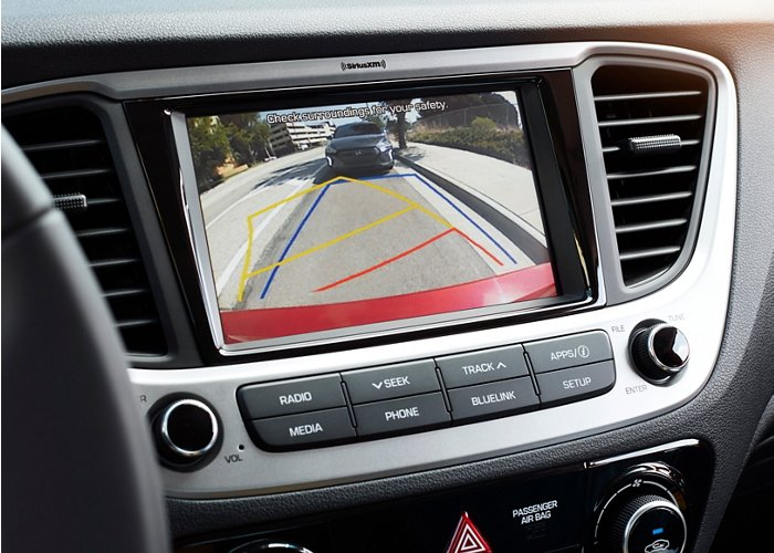2020 Hyundai Accent Limited rear view camera