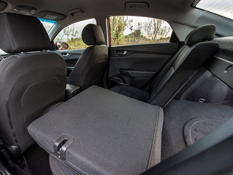 2020 Hyundai Accent SEL Fold down seat back