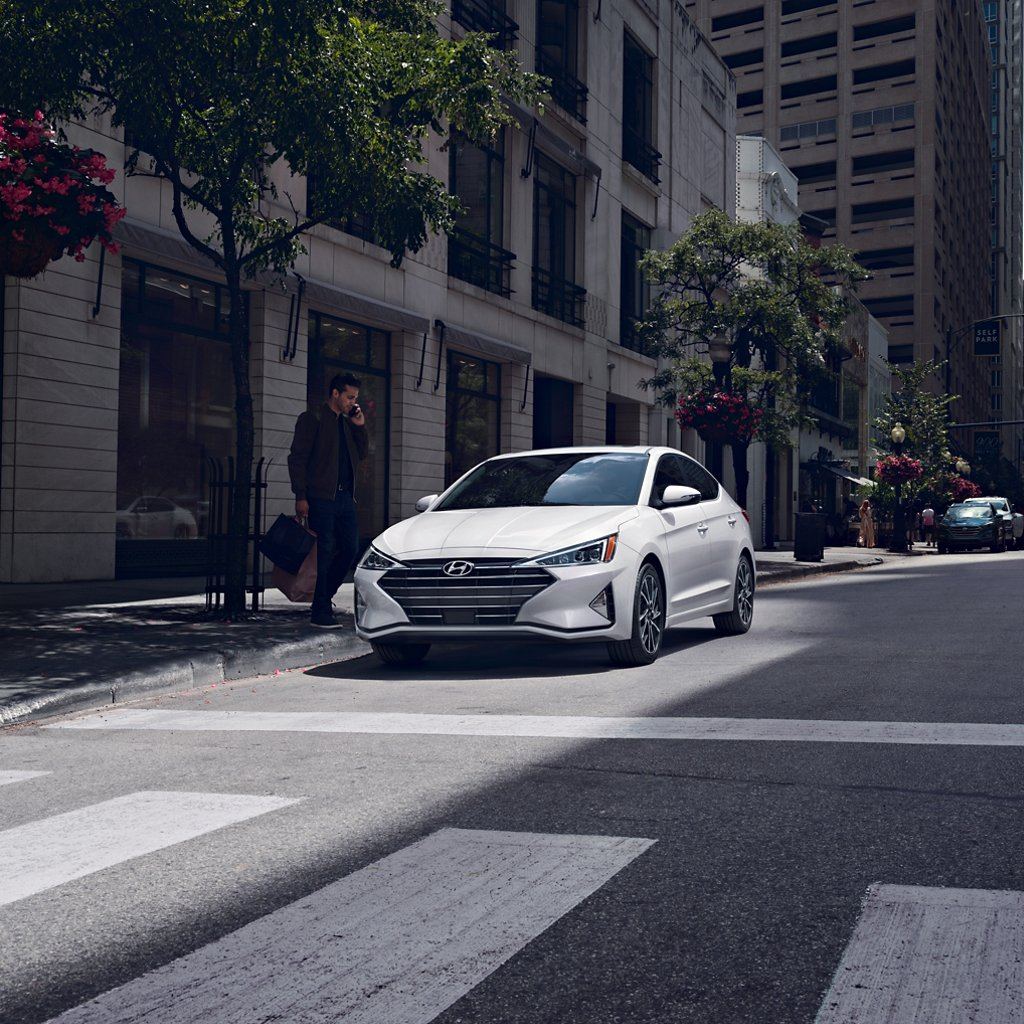 2020 Elantra Limited in White