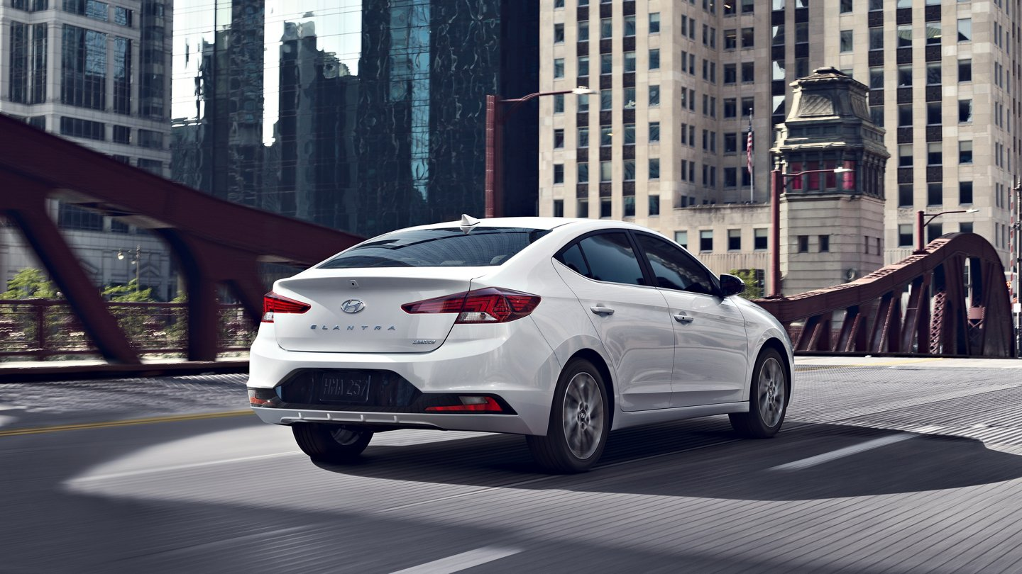 2020 Elantra Limited LED Tail Lights