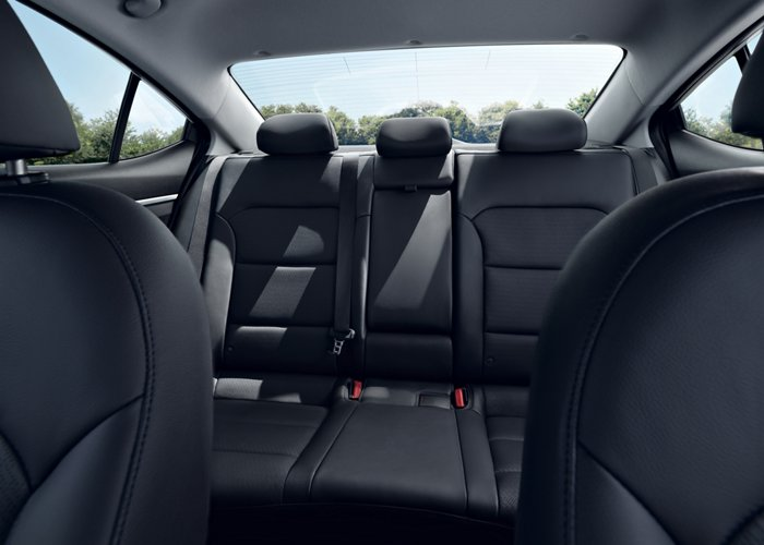 2020 Elantra Limited Leather seats