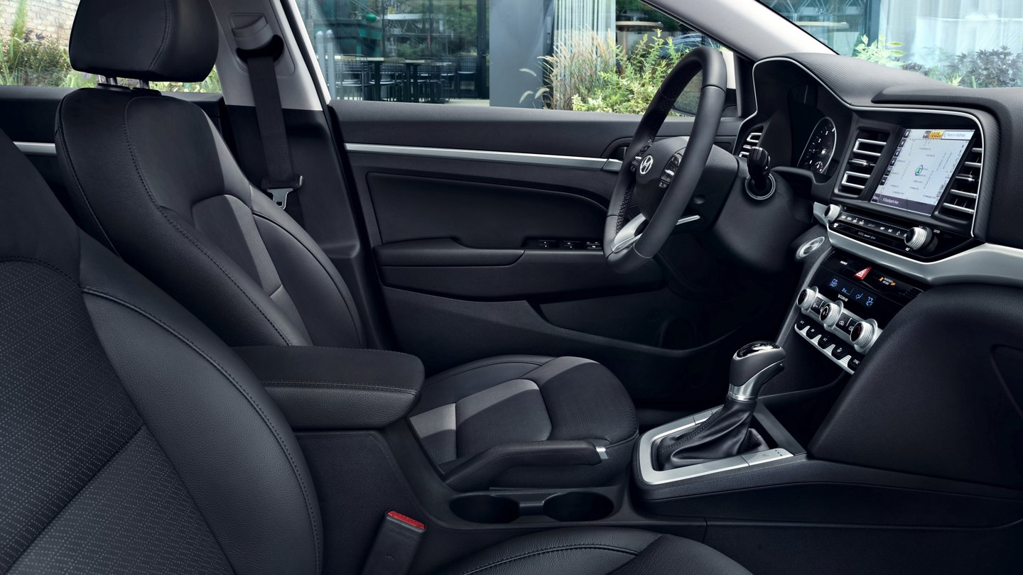 2020 Elantra Limited Leather Seating