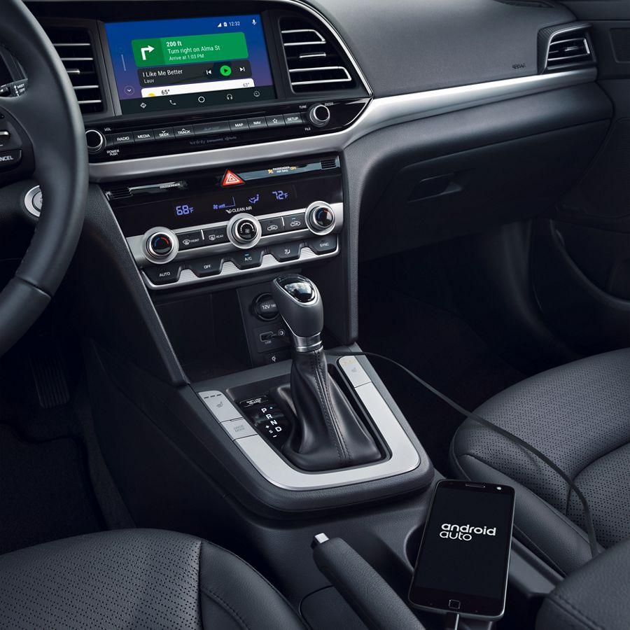 2020 Elantra With Android Auto and Apple Carplay