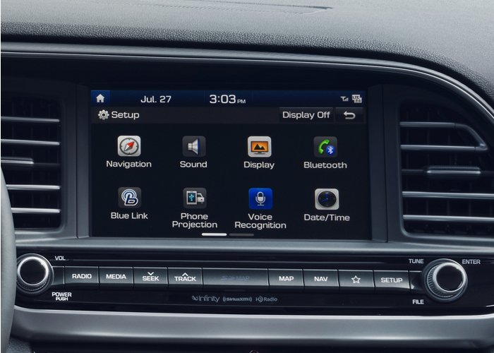 2020 Hyundai Elantra Value Edition Touchscreen audio display