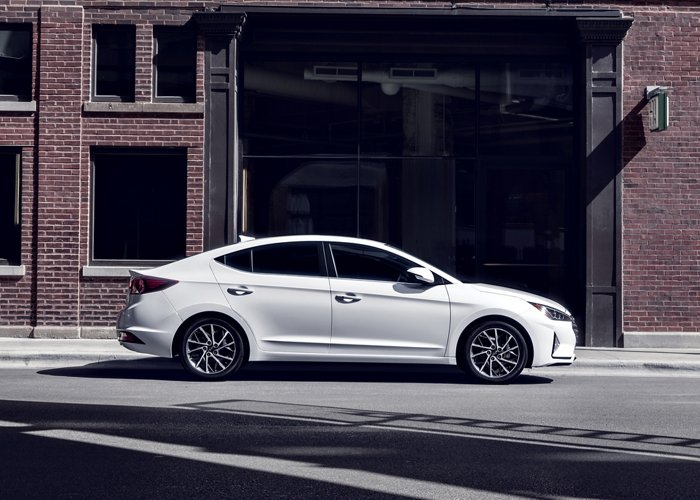 2020 Elantra Limited In Quartz White Pearl