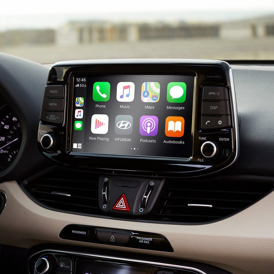 Android Auto y Apple CarPlay del Hyundai Elantra GT 2020