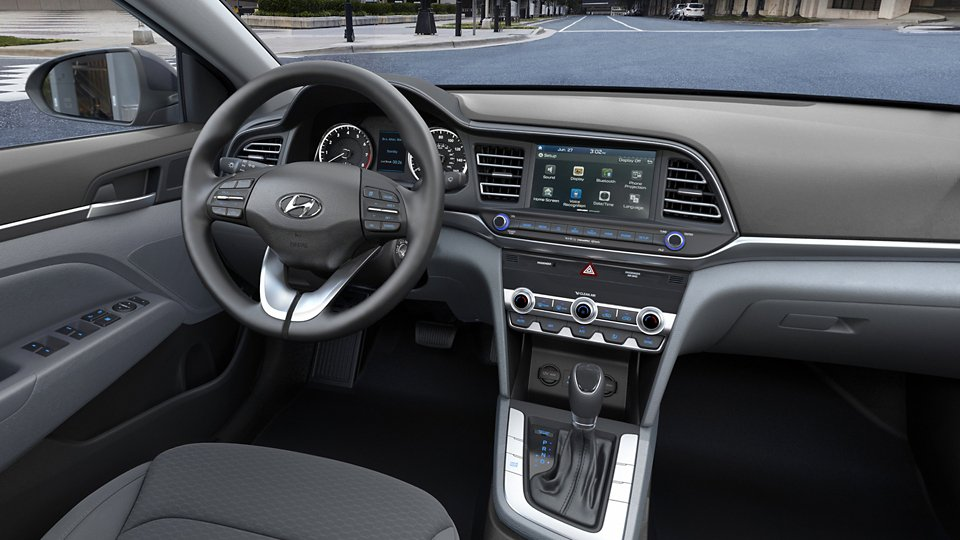 360 Interior Image of the 2020 ELANTRA SEL in Gray