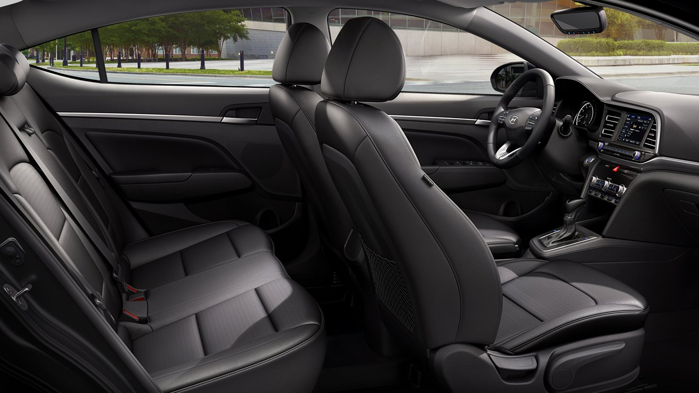 2020 Hyundai Elantra Limited Leather Seats