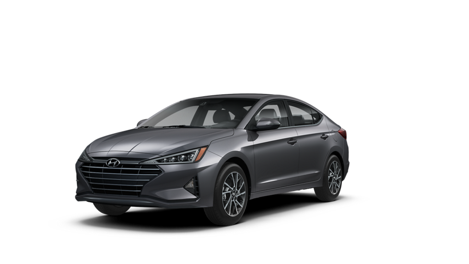 360 Exterior Image of the 2020 ELANTRA Limited in Gray